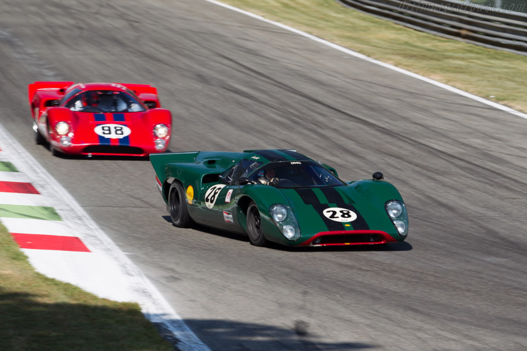 Lola T70 Mk3B Coupe - Chassis: SL76/147 - Driver: David Hart  - 2015 Monza Historic