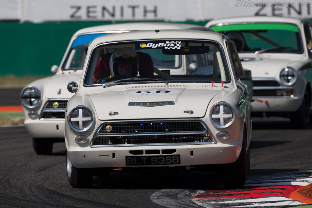 Lotus Cortina  - Driver: John Avill / Ross Hyett  - 2015 Monza Historic