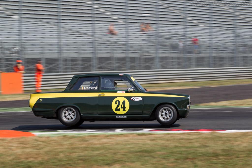 Lotus Cortina - Chassis: BA77EK96773 - Driver: Christophe van Riet / Raphaël de Borman  - 2015 Monza Historic