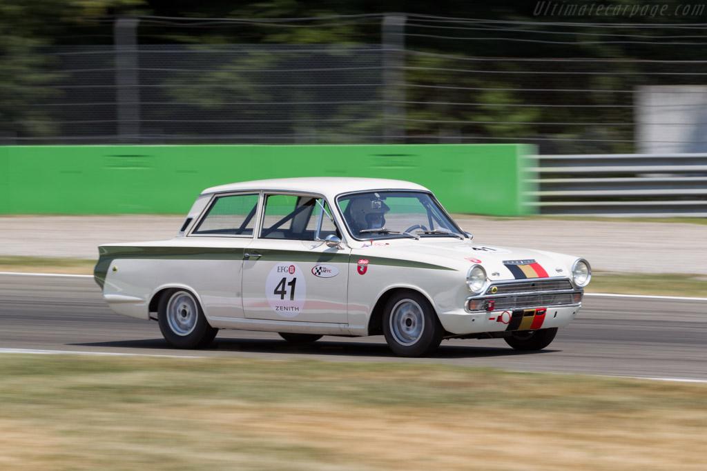 Lotus Cortina - Chassis: BA74FL59096 - Driver: Marie-Claude Firmenich  - 2015 Monza Historic