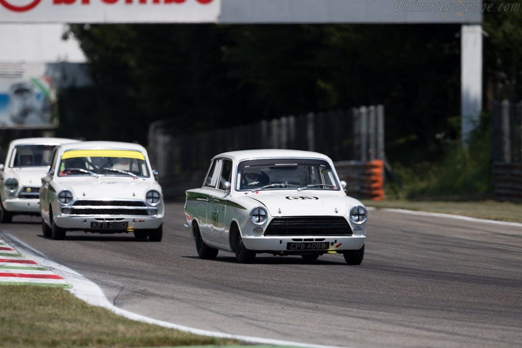Lotus Cortina  - Driver: Grant Tromans / Richard Meaden  - 2015 Monza Historic