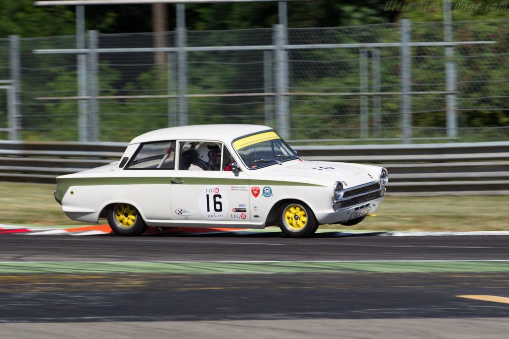 Lotus Cortina  - Driver: David Tomlin / Richard Meaden  - 2015 Monza Historic