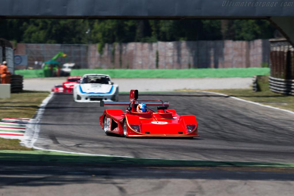 March 75S - Chassis: 75S/U1 - Driver: Valerio Leono / Fabrice Notari  - 2015 Monza Historic