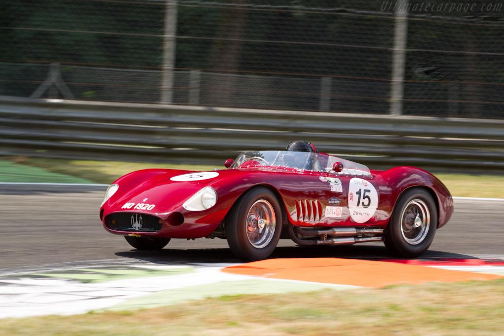 Maserati 300S - Chassis: 3082 - Driver: Martin Halusa / Lukas Halusa  - 2015 Monza Historic