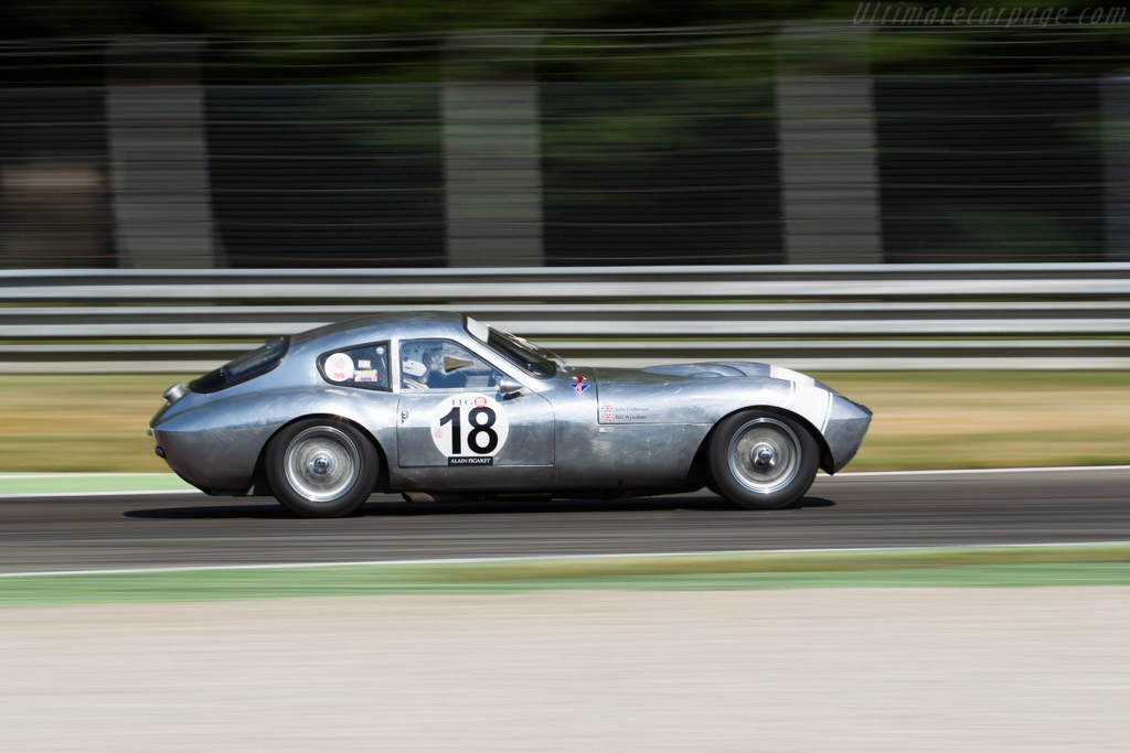 Morgan SLR - Chassis: SLR4 - Driver: John Emberson / Bill Wykeham  - 2015 Monza Historic