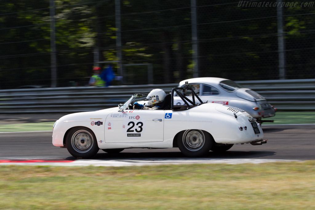 Porsche 356 Speedster  - Driver: Vincent Tourneur  - 2015 Monza Historic