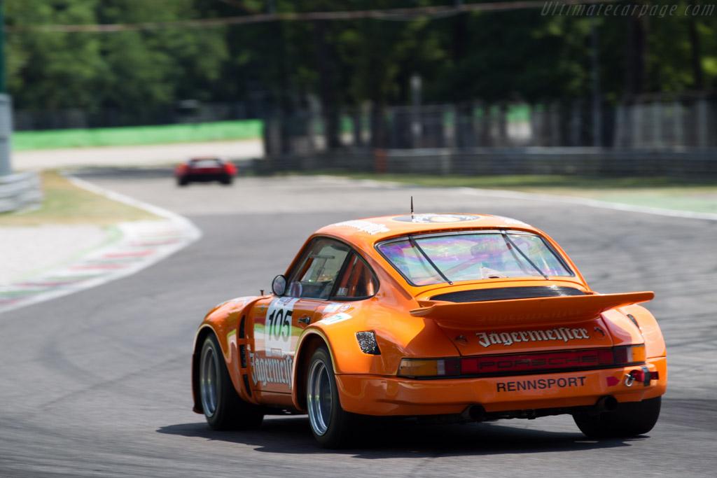 Porsche 911 Carrera RSR 3.0  - Driver: Luciano Tarabini  - 2015 Monza Historic