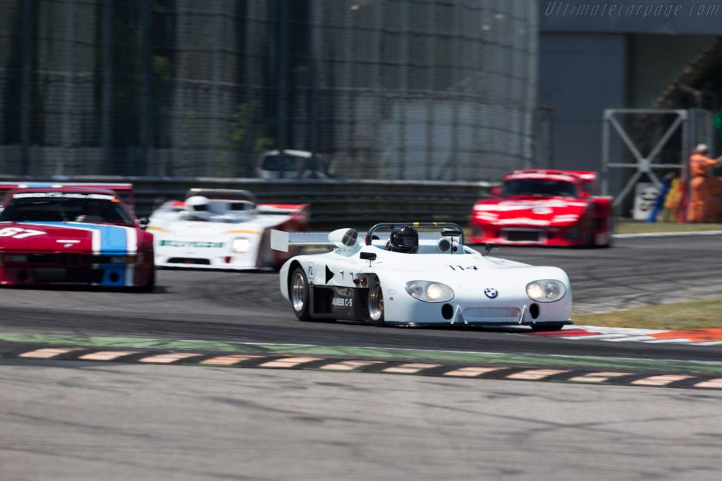 Sauber C5 - Chassis: C05.002 - Driver: Darius Ahrabian  - 2015 Monza Historic