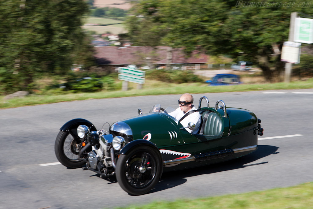Morgan 3 Wheeler    - Morgan 3 Wheeler Road Test