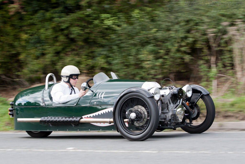 Morgan 3 Wheeler    - Morgan 3 Wheeler Road Test