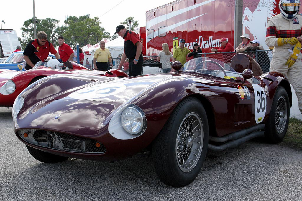 Maserati A6GCS - Chassis: 2062 - Driver: Gregor Fisken  - 2007 Cavallino Classic