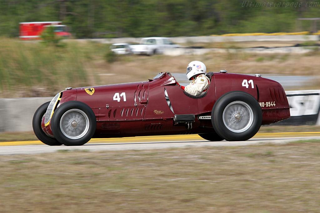 Alfa Romeo 8C 35 - Chassis: 50014 - Driver: Peter Greenfield  - 2006 Cavallino Classic