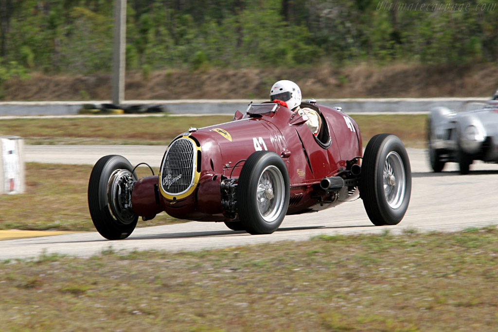 Alfa Romeo 8C 35 - Chassis: 50014 - Driver: Peter Greenfield  - 2006 Cavallino Classic
