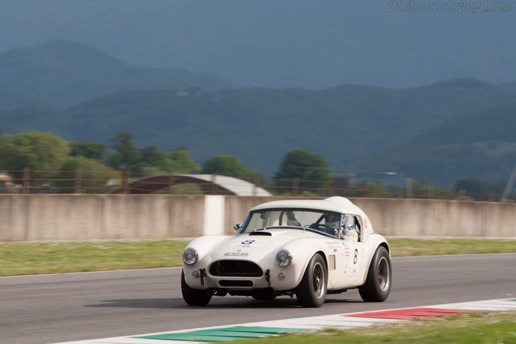 AC Shelby Cobra - Chassis: CSX2547 - Driver: Claude Demole / Pascal Gaudard - 2014 Mugello Classic