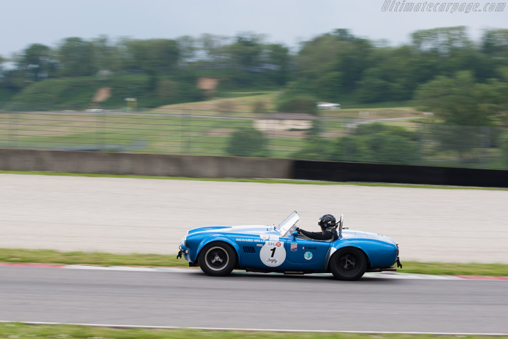 AC Shelby Cobra - Chassis: COX6013 - Driver: Yvan Mahe  - 2014 Mugello Classic