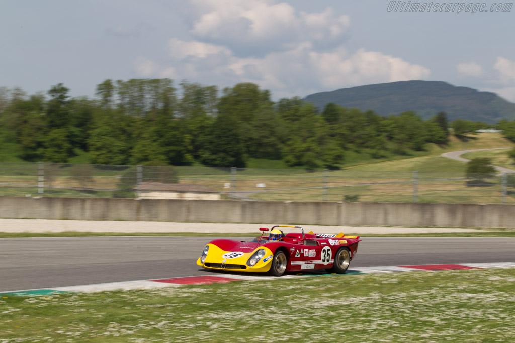 Alfa Romeo 33/3 Spider - Chassis: 10580-023 - Driver: Nanni Galli  - 2014 Mugello Classic