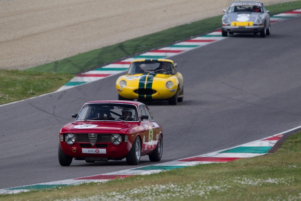 Alfa Romeo GTA  - Driver: Lukas Huni  - 2014 Mugello Classic