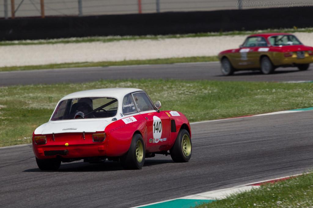Alfa Romeo GTAm  - Driver: Diego Iacoangeli / Marco Iacoangeli  - 2014 Mugello Classic