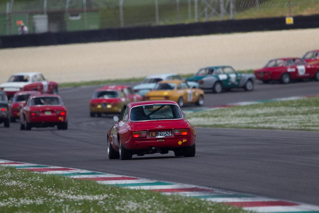 Alfa Romeo GTAm  - Driver: Alessandro Rolfo / Giorgio Cazzola  - 2014 Mugello Classic