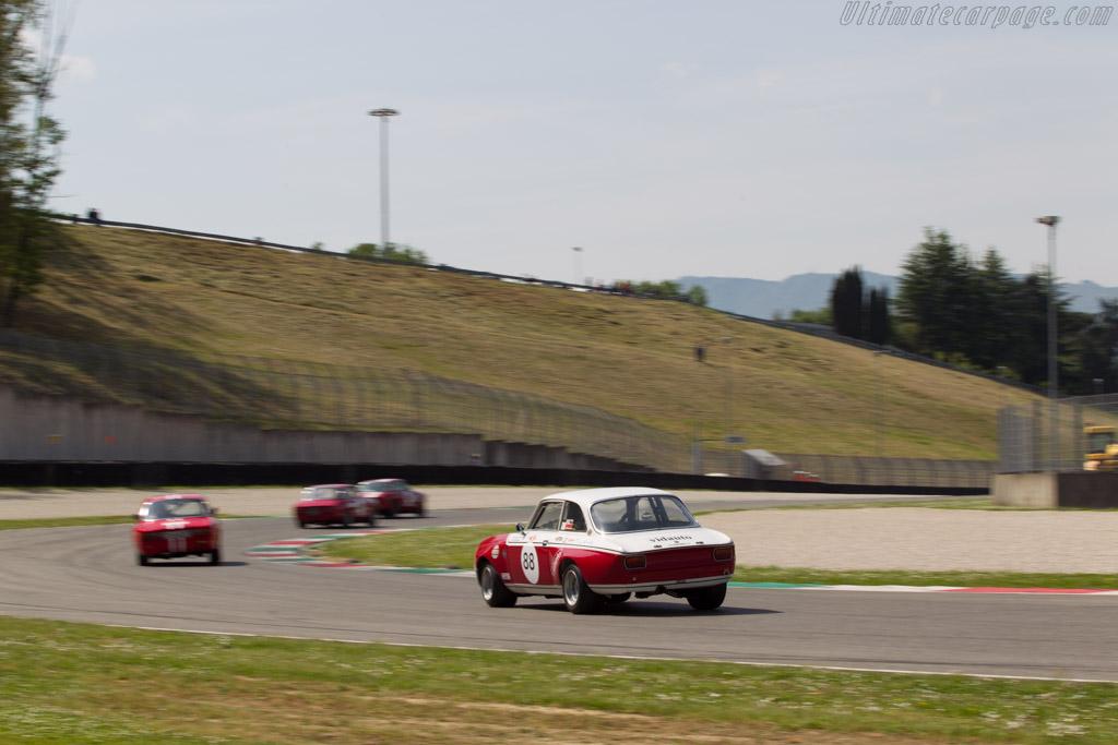 Alfa Romeo GTAm  - Driver: Francesco Paantaleo / Antonino Damiani  - 2014 Mugello Classic