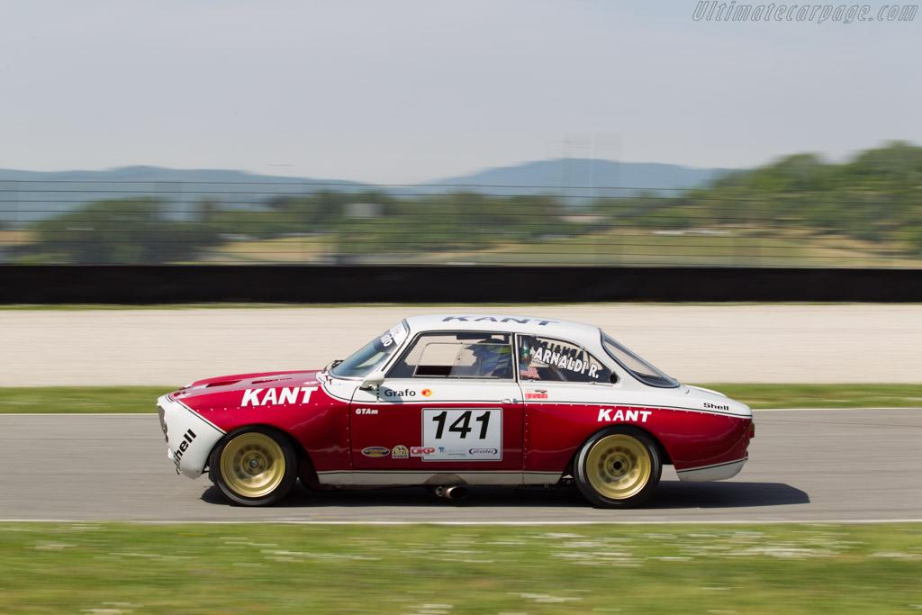 Alfa Romeo GTAm  - Driver: Roberto Arnaldi  - 2014 Mugello Classic