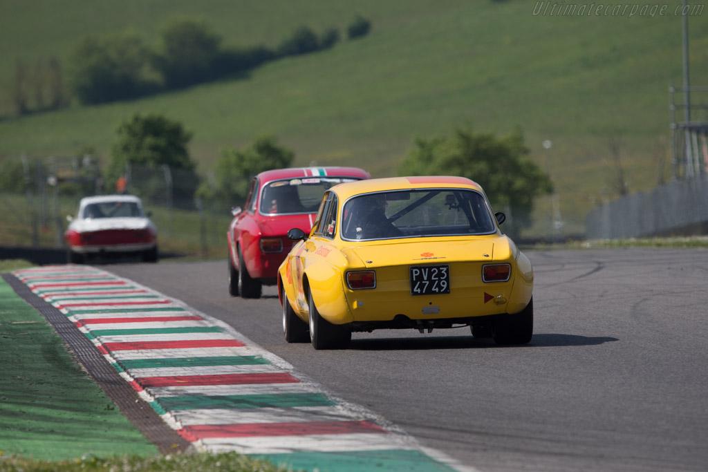 Alfa Romeo GTAm  - Driver: Lorenzo Moramarco  - 2014 Mugello Classic