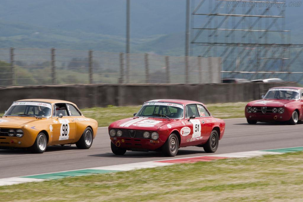 Alfa Romeo GTV 2000  - Driver: Leonardo Galli / Amerigo Magonio  - 2014 Mugello Classic