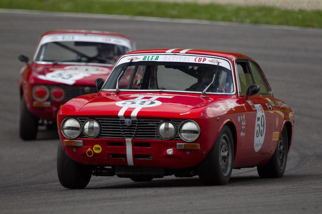 Alfa Romeo GTV 2000  - Driver: Stefano Tassi  - 2014 Mugello Classic