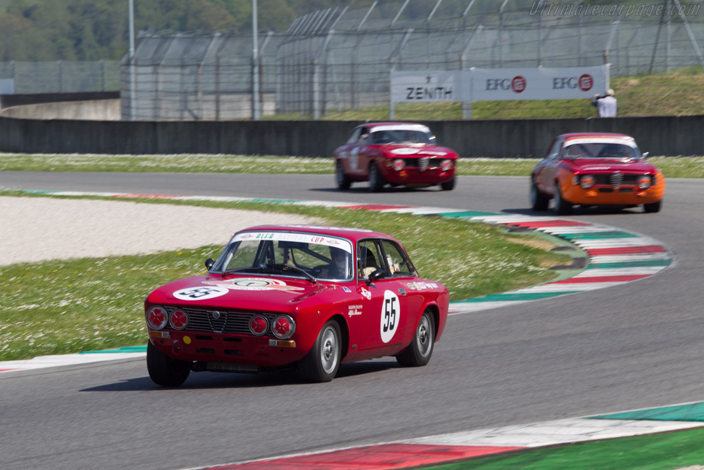 Alfa Romeo GTV 2000  - Driver: Matthias Ficht / Wolf Zweifler  - 2014 Mugello Classic