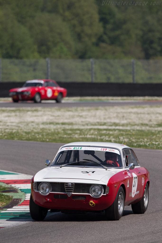Alfa Romeo Sprint GTA  - Driver: Salvatore Rizzo  - 2014 Mugello Classic