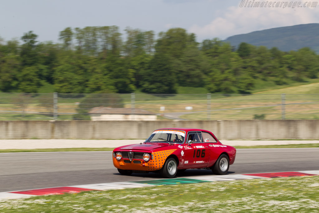 Alfa Romeo Sprint GTA  - Driver: Salvatore Barraco / Roberto Chiaramonte  - 2014 Mugello Classic