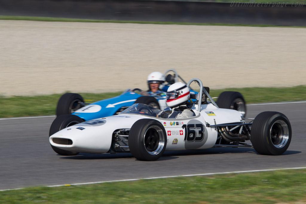 Brabham BT18A  - Driver: Christophe Widmer - 2014 Mugello Classic
