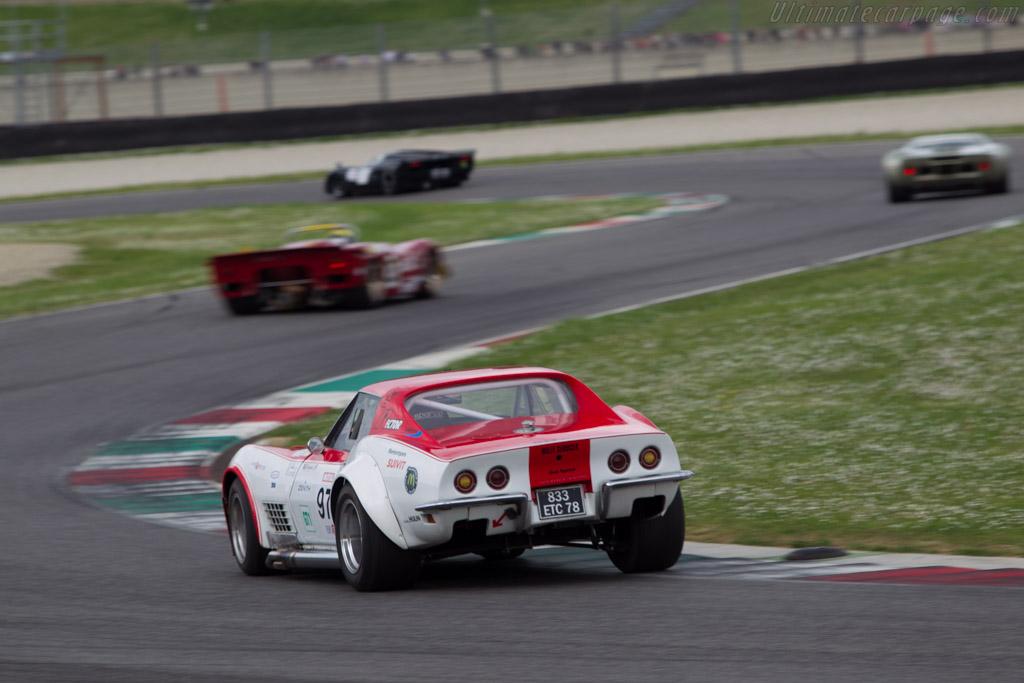 Chevrolet Corvette  - Driver: Sebastien Margot  - 2014 Mugello Classic
