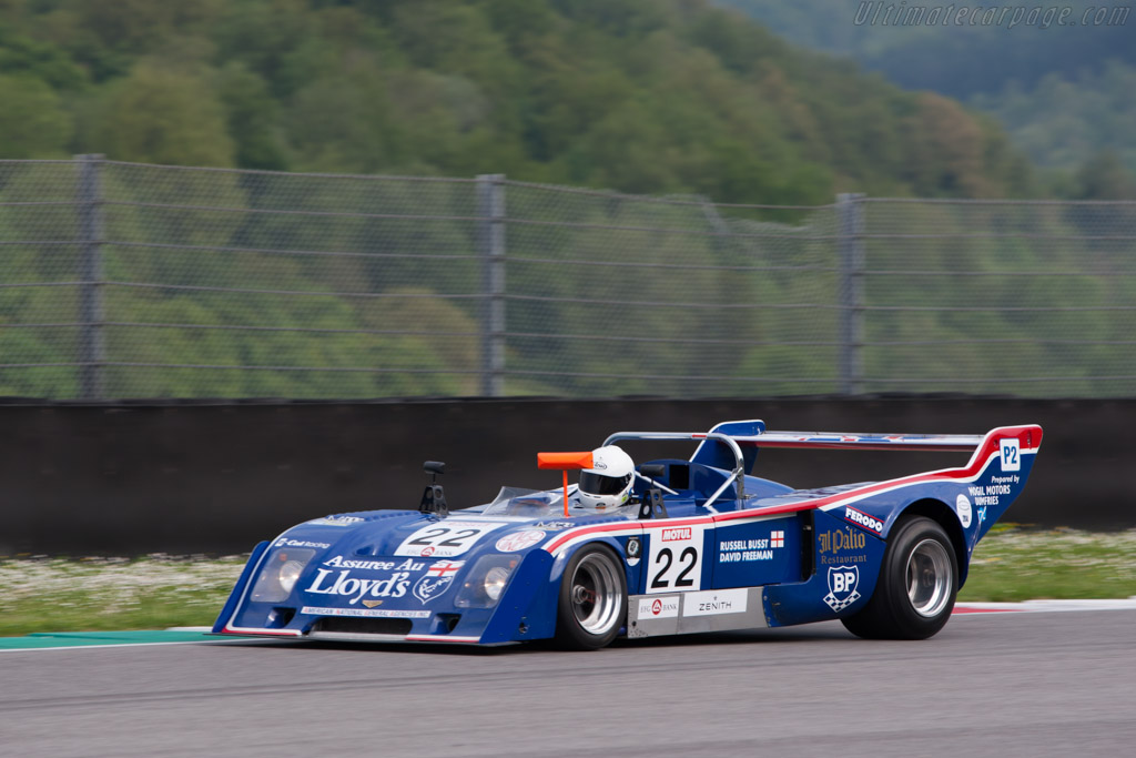 Chevron B31 Hart - Chassis: B31-75-04 - Driver: Russel Busst  - 2014 Mugello Classic