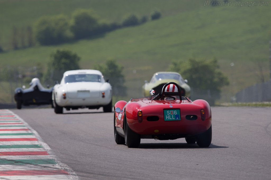Cooper Monaco Maserati - Chassis: CM-5-59 - Driver: Egon Hofer  - 2014 Mugello Classic