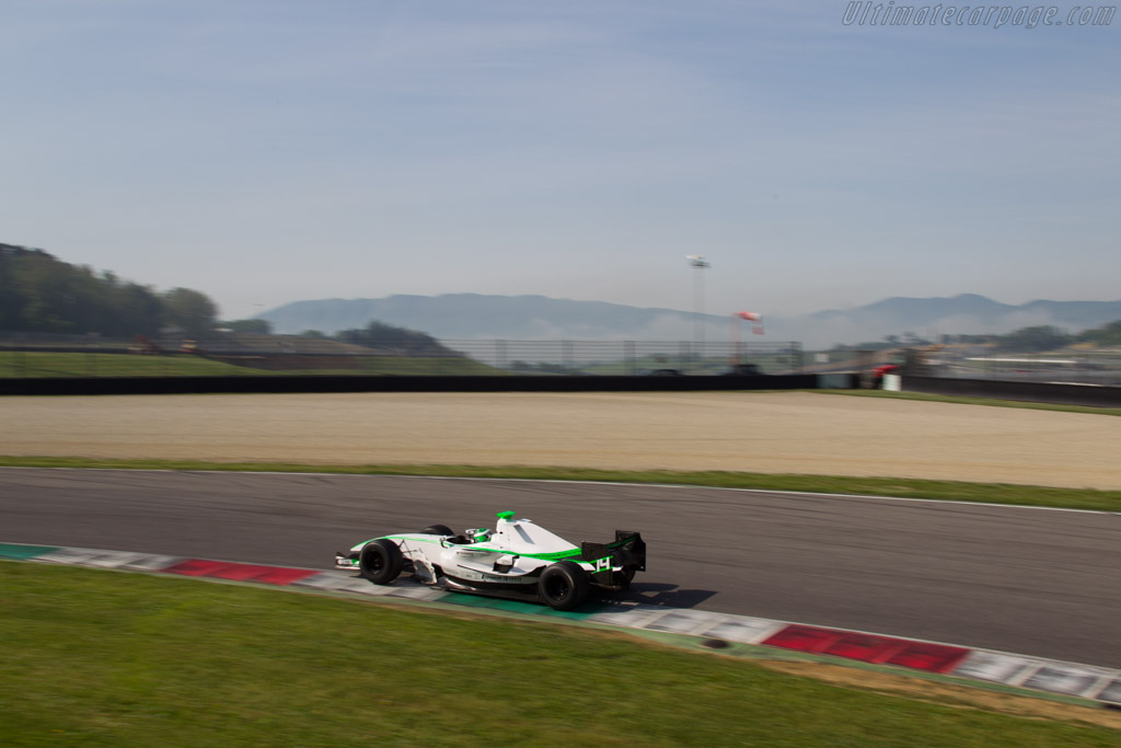 Dallara GP2 Mecachrome  - Driver: Johann Ledermair  - 2014 Mugello Classic