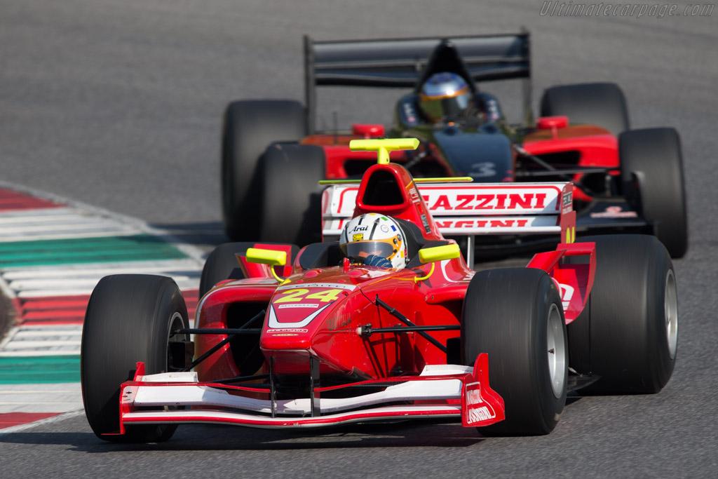 Dallara GP2 Mecachrome  - Driver: Gianluca Ripoli  - 2014 Mugello Classic