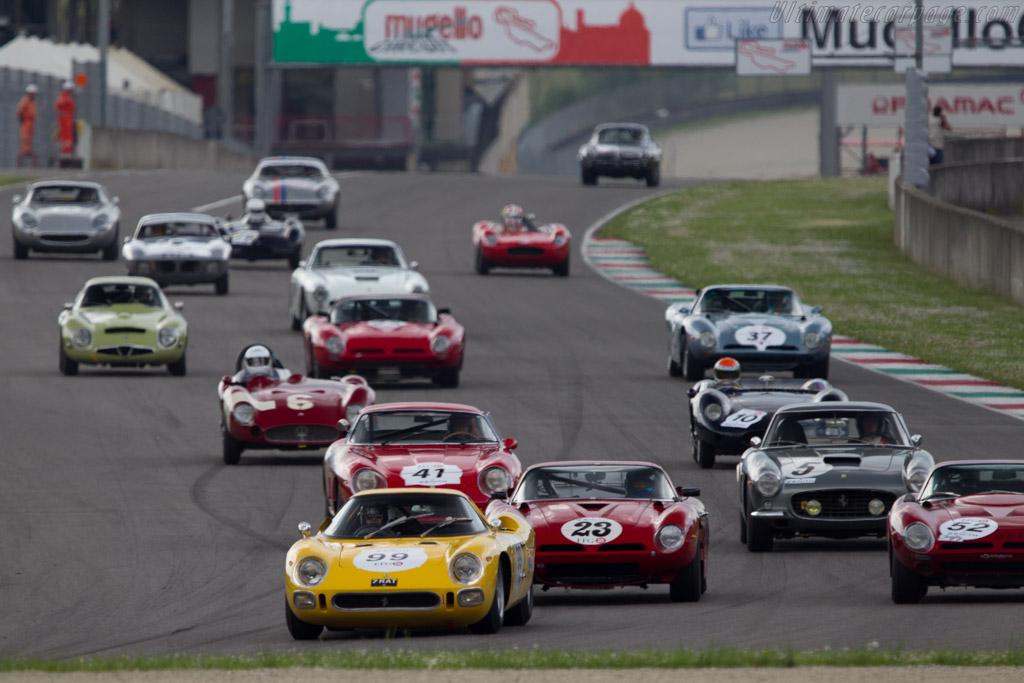 Ferrari 250 LM - Chassis: 6313 - Driver: Carlos Monteverde  - 2014 Mugello Classic