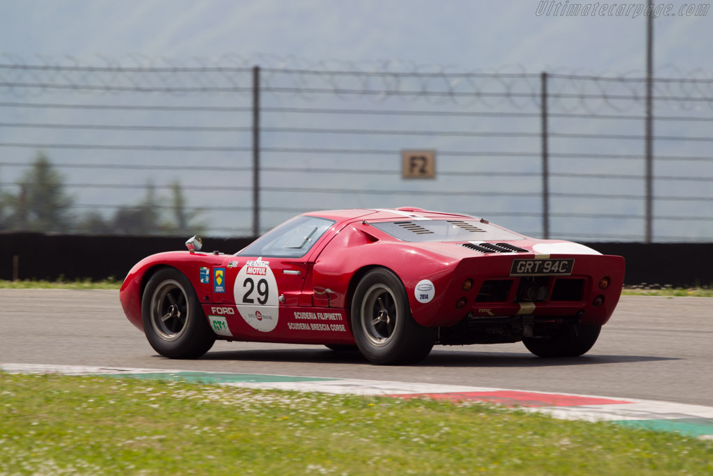 Ford GT40 - Chassis: GT40P/1042 - Driver: Vincent Neurisse / Xavier Galant  - 2014 Mugello Classic