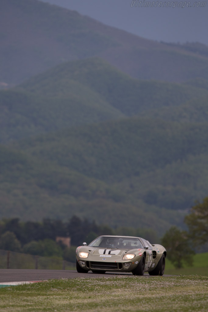 Ford GT40 - Chassis: GT40P/1078 - Driver: Claude Nahum  - 2014 Mugello Classic