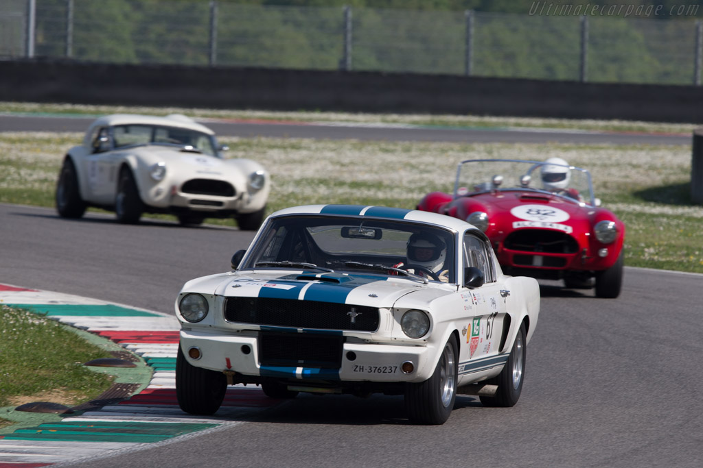 Ford Shelby Mustang GT350  - Driver: Thomas Studer  - 2014 Mugello Classic