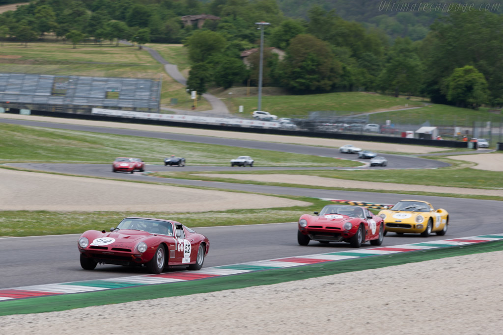 Iso Grifo A3C - Chassis: B 0205 - Driver: Dominique Vananty / Olivier de Siebenthal  - 2014 Mugello Classic