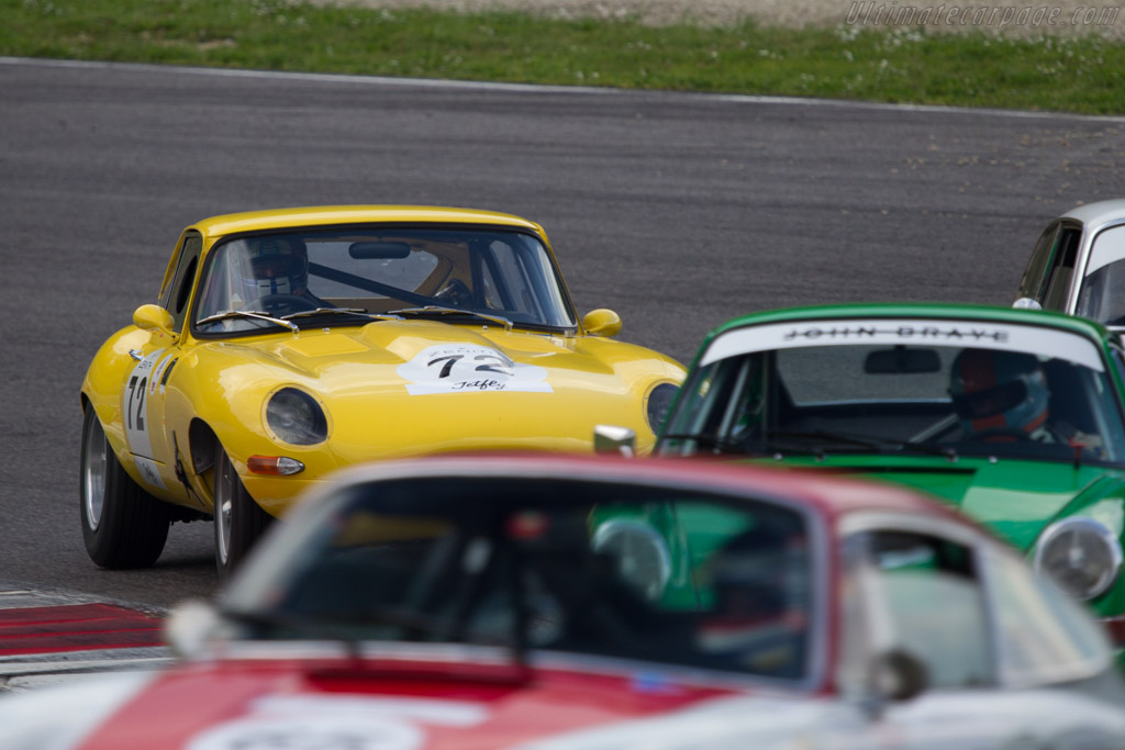 Jaguar E-Type  - Driver: Claude Nahum  - 2014 Mugello Classic