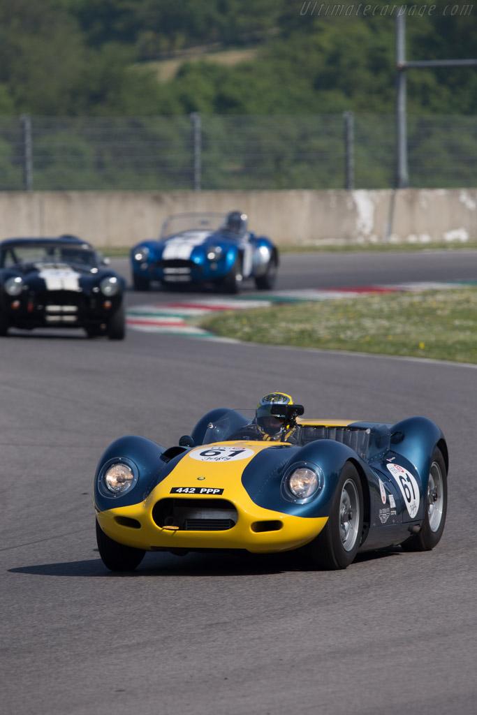 Lister Knobbly Jaguar  - Driver: Pierre Ferret  - 2014 Mugello Classic