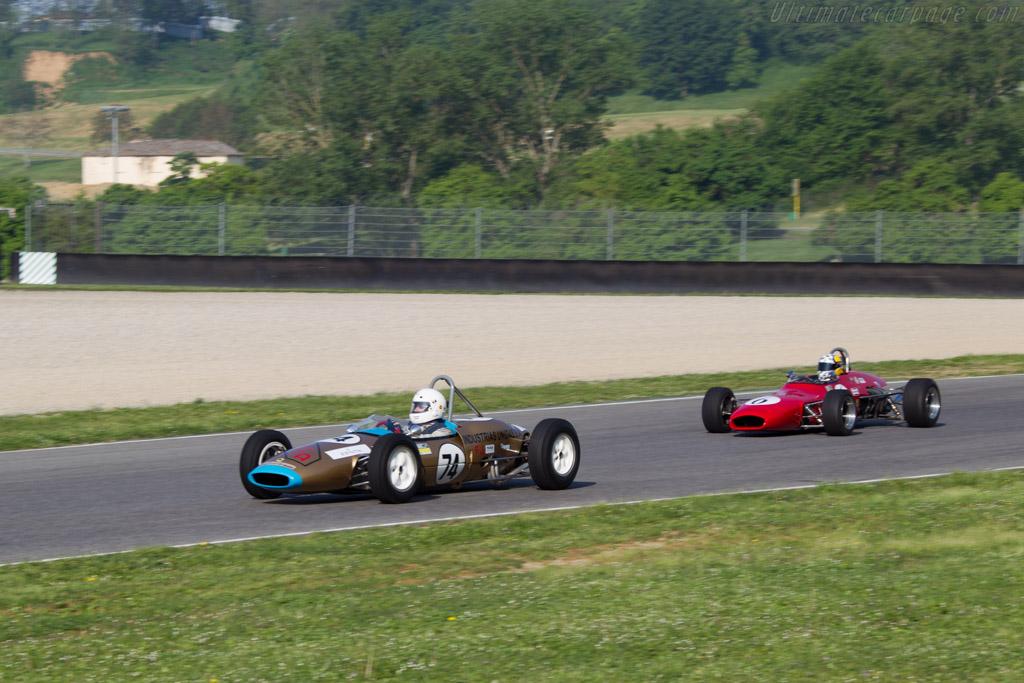 Lotus 22  - Driver: Francesco Baldanza  - 2014 Mugello Classic