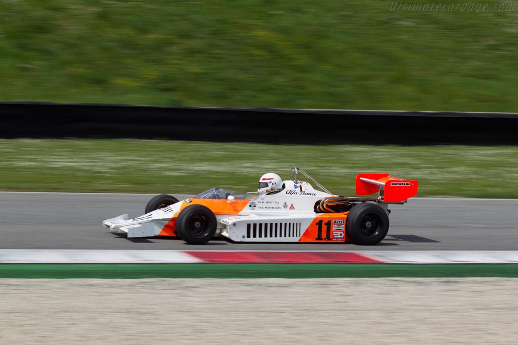 Martini Mk37 Alfa Romeo  - Driver: Eric Martin  - 2014 Mugello Classic