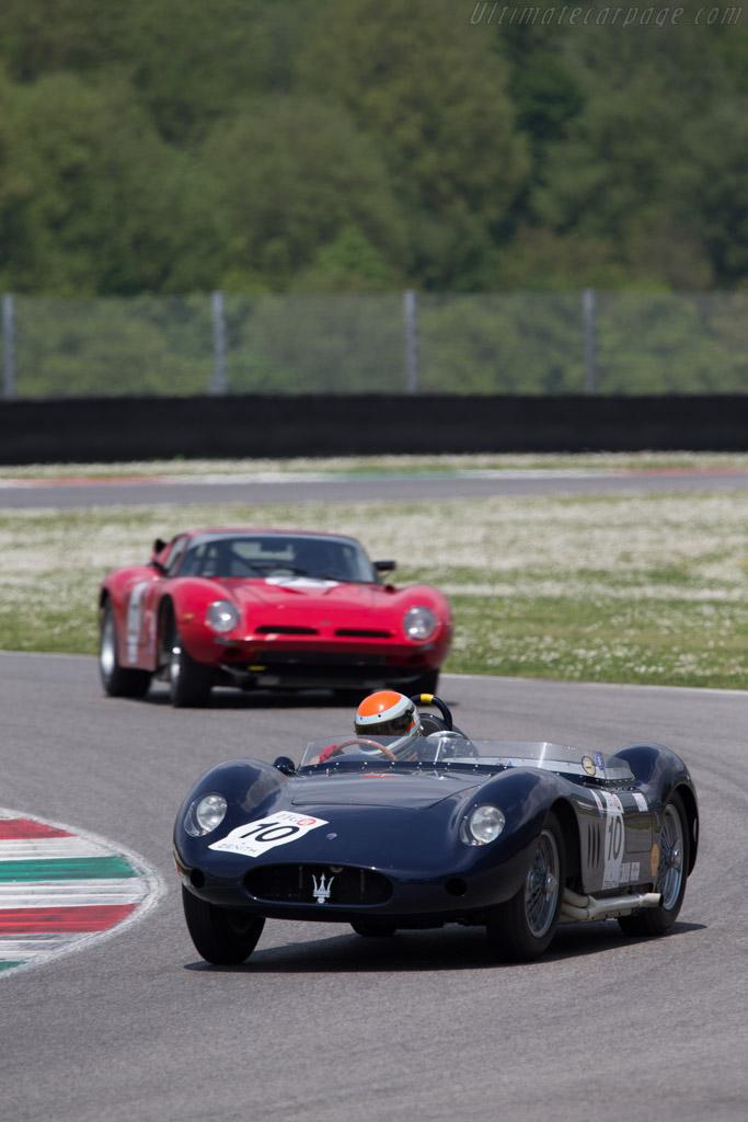 Maserati 250S - Chassis: 2411 - Driver: Marc Devis  - 2014 Mugello Classic