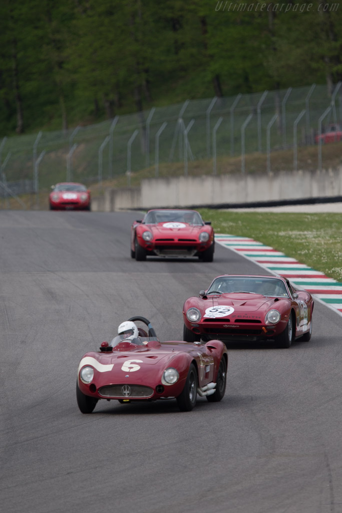 Maserati 300S - Chassis: 3059 - Driver: Carlo Vogele  - 2014 Mugello Classic