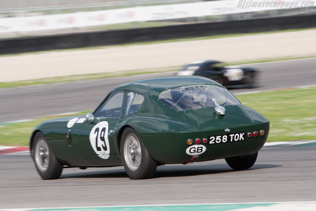 Morgan +4 SLR - Chassis: SLR3 - Driver: Keith Ahlers / James Bellinger  - 2014 Mugello Classic