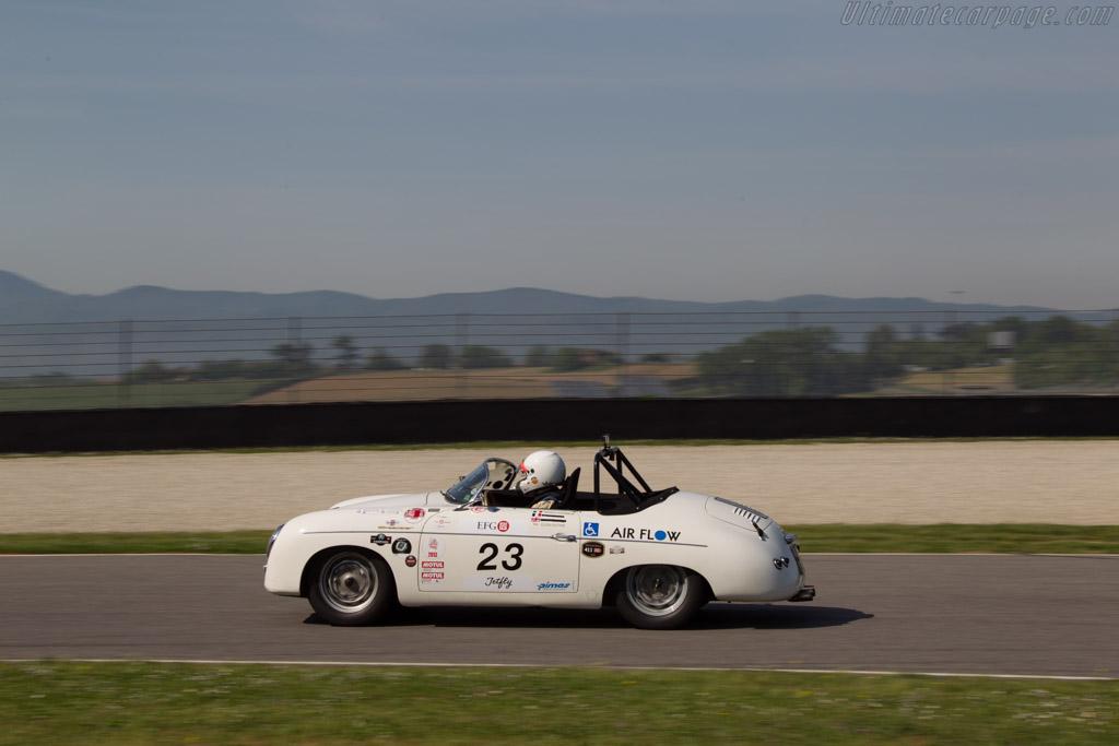 Porsche 356 Speedster Driver Vincent Tourneur Duthie